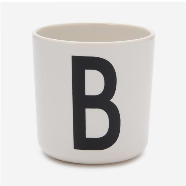 DESIGN LETTERS MELAMINE CUP B
