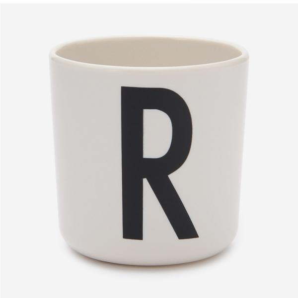 DESIGN LETTERS MELAMINE CUP R