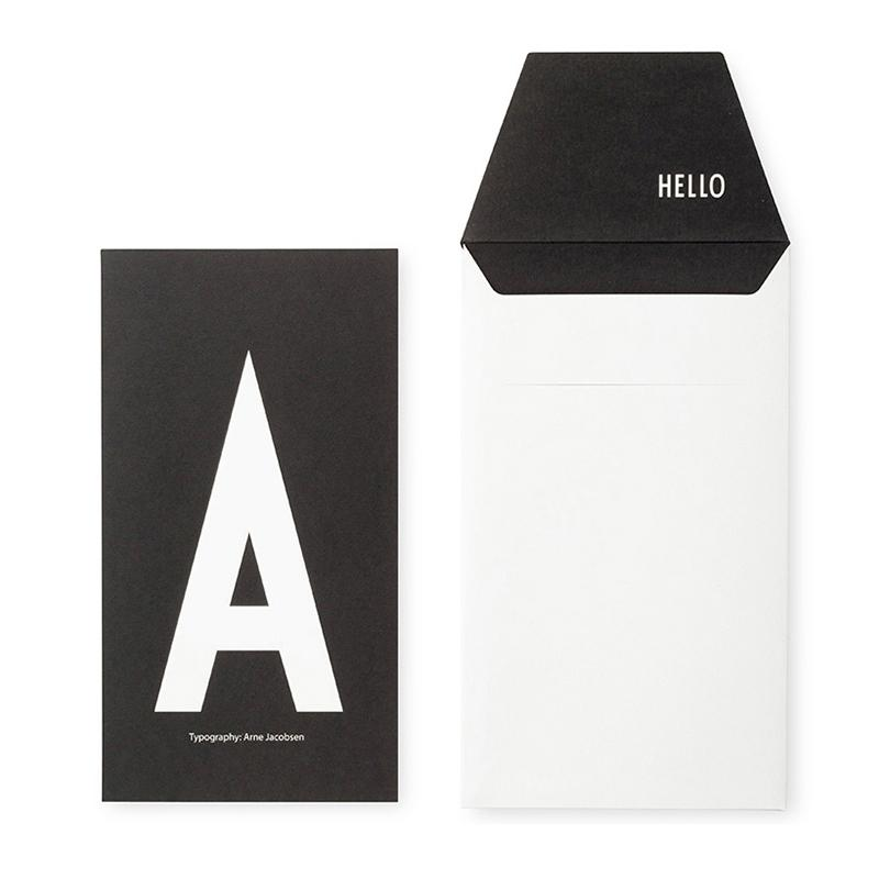 DESIGN LETTERS+Arne Jacobsen GREETING CARD A