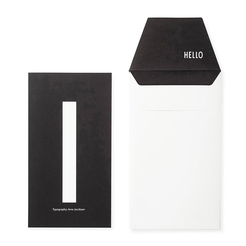 DESIGN LETTERS+Arne Jacobsen GREETING CARD I