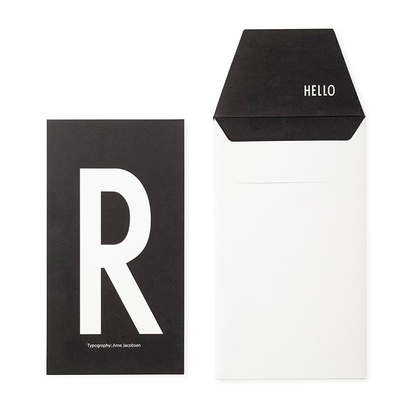 DESIGN LETTERS+Arne Jacobsen GREETING CARD R